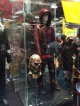 Arsenal costume and Brother Blood's mask