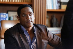 """MARVEL'S AGENTS OF S.H.I.E.L.D. - """"One of Us"""" - Cal seeks revenge on Coulson by assembling a team of Super Villains to destroy S.H.I.E.L.D. Meanwhile, May calls on renowned Dr. Andrew Garner (Blair Underwood), her charismatic ex-husband, with a crisis that threatens to tear the team apart, on """"Marvel's Agents of S.H.I.E.L.D.,"""" TUESDAY, MARCH 17 (9:00-10:00 p.m., ET) on the ABC Television Network. (ABC/Kelsey McNeal) BLAIR UNDERWOOD"""
