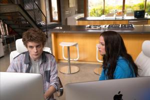 Erik Knudsen as Alec Sadler  and Rachel Nichols as Kiera Cameron