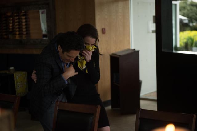 Stephen Lobo as Matthew Kellogg and Rachel Nichols as Kiera Cameron