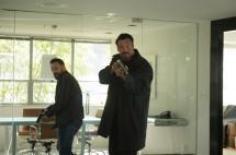 Aleks Paunovic as Rollins and Ryan Robbins as Brad Tompkin