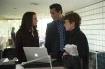 Rachel Nichols as Kiera Cameron, Victor Webster as Carlos Fonnegra and Erik Knudsen as Alec Sadler