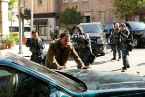 "MARVEL'S AGENTS OF S.H.I.E.L.D. - ""Laws of Nature"" - ""Marvel's Agents of S.H.I.E.L.D."" returns for an action-packed third season on TUESDAY, SEPTEMBER 29 (9:00-10:00 p.m., ET) on the ABC Television Network. On the season premiere episode, ""Laws of Nature,"" when Coulson and the team discover a new Inhuman, S.H.I.E.L.D. comes face to face with another organization searching for powered people. And still reeling from Simmons' dramatic disappearance, Fitz goes to extreme lengths to try to learn how to get her back. (ABC/Kelsey McNeal) JUAN PABLO RABA, JUDE B. LANSTON, ANDREW HOWARD"