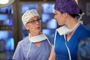 Kate Lynch as Clara Levine and Erica Durance as Alex Reid