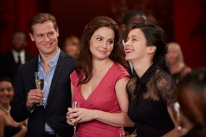 Max Bennett as Dr. Patrick Curtis and Erica Durance as Dr. Alex Reid and Julia Taylor Ross as Dr. Maggie Lin