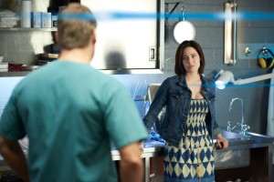 Charlotte Sullivan as Elizabeth Grant and Michael Shanks as Charlie Harris