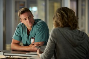 Michael Shanks as Charlie Harris and Nicole Underhay as Kristine Fields