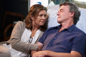 Wendy Crewson as Dr. Dana Kinney and Tom McCamus as Joshua Lewis