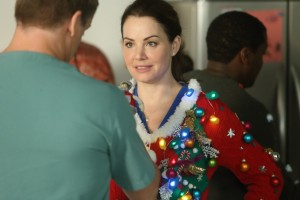 Michael Shanks as Charlie Harris and Erica Durance as Alex Reid