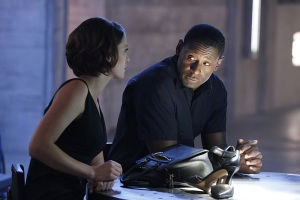 """Childish Things"" -- Kara does her best to support Winn when his father, the supervillain Toyman, breaks out of prison and seeks out his son for unknown reasons, on SUPERGIRL, Monday, Jan. 18 (8:00-9:00 PM, ET/PT) on the CBS Television Network. Pictured left to right: Chyler Leigh and David Harewood Photo: Robert Voets/CBS ©2015 CBS Broadcasting, Inc. All Rights Reserved"