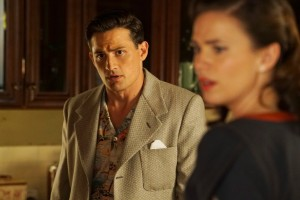 "MARVEL'S AGENT CARTER - ""Better Angels"" - Peggy's search for the truth about Zero Matter puts her on a collision course with her superiors as Howard Stark barnstorms in, on ""Marvel's Agent Carter,"" TUESDAY, JANUARY 26 (9:00-10:00 p.m. EST) on the ABC Television Network. (ABC/Eric McCandless) ENVER GJOKAJ, HAYLEY ATWELL"
