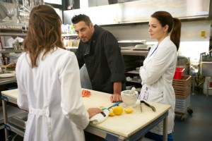 Wendy Crewson as Dana Kinney, Stefano DiMatteo as Lorenzo and Erica Durance as Alex Reid