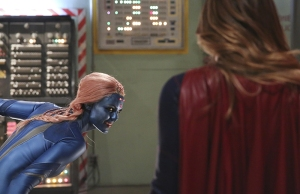 """Solitude"" -- Kara travels to Superman's Fortress of Solitude in hopes of learning how to defeat Indigo (Laura Vandervoort, pictured), a dangerous being who can transport via the Internet and who has a connection to Kara's past, on SUPERGIRL, Monday, Feb. 29 (8:00-9:00 PM, ET/PT) on the CBS Television Network.  Photo: Michael Yarish/CBS ©2016 CBS Broadcasting, Inc. All Rights Reserved"