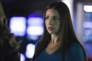 "Arrow -- ""Taken"" -- Image AR415b_0032b.jpg -- Pictured: Anna Hopkins as Samantha -- Photo: Bettina Strauss/ The CW -- © 2016 The CW Network, LLC. All Rights Reserved."
