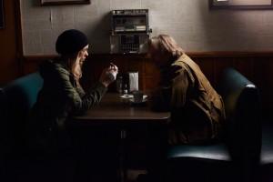 Laura Vandervoort as Elena Michaels and John Ralston as Sasha Antonov