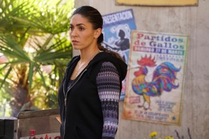 "MARVEL'S AGENTS OF S.H.I.E.L.D. - ""Bouncing Back"" - In the midseason premiere, ""Bouncing Back,"" in the aftermath of his trip to Maveth, Coulson is more determined than ever to get to Gideon Malick and put an end to Hydra once and for all. Meanwhile, Daisy and the team encounter more Inhumans who have powers like they've never seen before, but will they be friends or enemies of S.H.I.E.L.D.? ""Marvel's Agents of S.H.I.E.L.D."" returns for a game-changing second half of Season Three, TUESDAY, MARCH 8 (9:00-10:00 p.m. EST) on the ABC Television Network. (ABC/Eric McCandless) NATALIA CORDOVA-BUCKLEY"