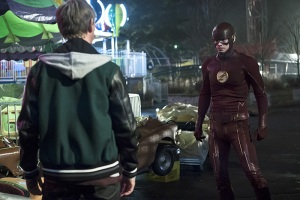 """The Flash -- """"Back to Normal"""" -- Image: FLA219b_0077b.jpg -- Pictured Grant Gustin as The Flash -- Photo: Katie Yu/The CW -- © 2016 The CW Network, LLC. All rights reserved."""
