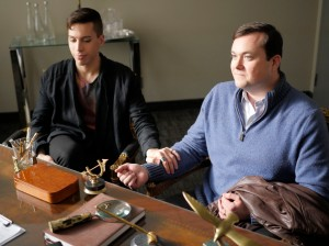 Felix (JORDAN GAVARIS) and Donnie (KRISTIAN BRUUN)