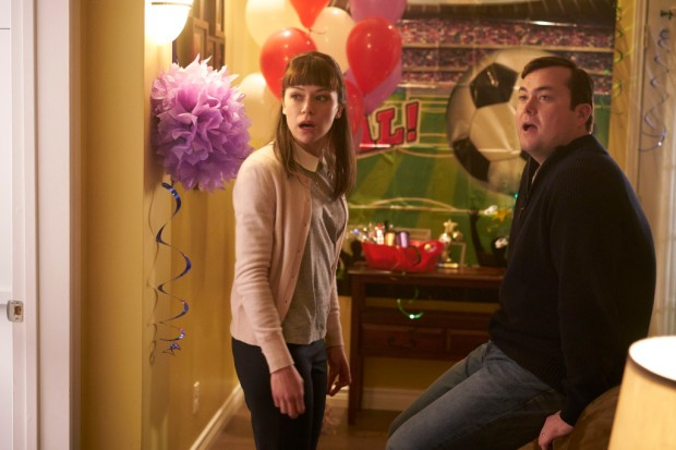 Alison (TATIANA MASLANY) and Donnie (KRISTIAN BRUUN)