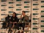 Candice Patton and Tom Cavanagh