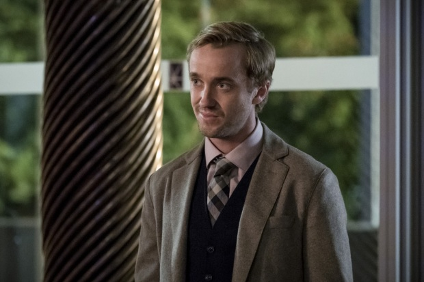 "The Flash -- ""Borrowing Problems from the Future"" -- Image FLA310b_0271b.jpg -- Pictured: Tom Felton as Julian Albert -- Photo: Katie Yu/The CW -- © 2016 The CW Network, LLC. All rights reserved."
