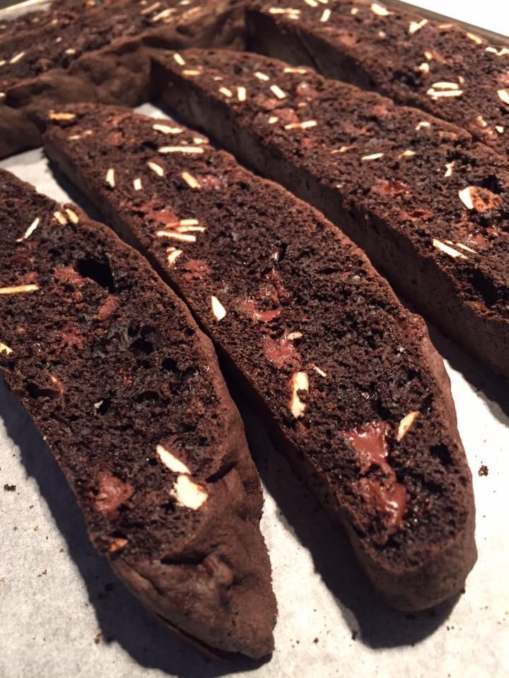 Chocolate-Almond Cantucci